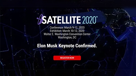 """Satellite 2020""exhibition in Washington DC"